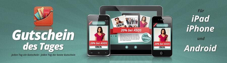 Gutschein iOS und Android App