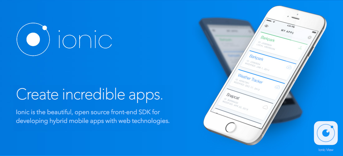 Ionic Hybrid Mobile App Entwicklung