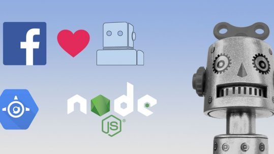 Development of a Chatbot for Facebook Messenger with Wit.ai, node.js and Google App Engine