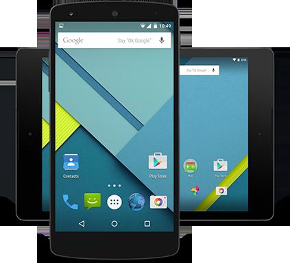 Google Material Design für Android